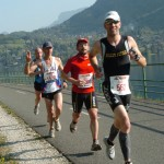 marathon annecy 2011 - à l'aller ... la croisière s'amuse