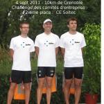 10km grenoble - 2nd comité entreprise Soitec